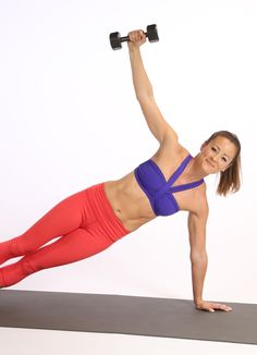 Tone your arms while working your entire body with this 10-minute workout from Anna Kaiser.