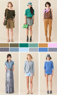 skirt. teal. suspenders. chambray+seuins=love. powder. sky.