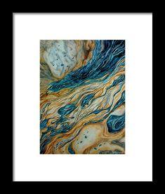 Liquid Sunshine Framed Print by Faye Anastasopoulou Ocean Scenes, Wave Art, Painting Abstract, Colorful Decor, Framed Art Prints, Fine Art America, Original Art, Artist, Artwork