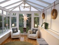 The conservatory furniture looks awesome every time. It is the best option to use conservatory furniture for your home decor. Conservatory Extension, Conservatory Design, Conservatory Interiors Small, Conservatory Ideas Interior Decor, Small Conservatory Furniture, Conservatory Playroom Ideas, Cosy Conservatory Ideas, Interior Ideas, Conservatory Flooring