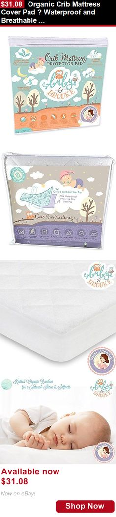 Mattress Pads And Covers Organic Crib Cover Pad Waterproof Breathable Bamboo Baby