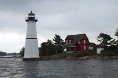 Rock Island Lighthouse  Thousand Islands, St. Lawrence River, NY