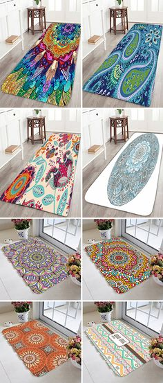 bathroom products:Bath Rugs & Toilet Covers>Bohemian Rug