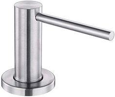 stainless steel soap dispenser for kitchen sink: Tools & Home Improvement Stainless Steel Soap Dispenser, Kitchen Soap Dispenser, Kitchen Faucets, Decks, Lotion, Home Improvement, Cosmetics, Tools, Modern