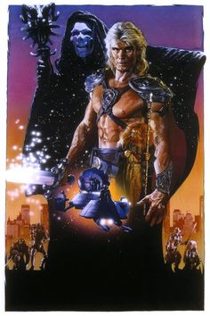 Masters of the Universe movie poster (This movie is a major guilty pleasure of mine)