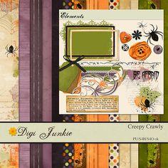 Creepy Crawly :: Full & Mini Kits :: Memory Scraps