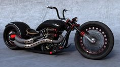 Motorcycle, Chopper, Motorcycles
