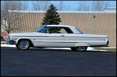 1964 Chevrolet Impala SS Hardtop 327 CI, Automatic for sale by Mecum Auction Chevrolet Impala, Dream Garage, Automatic Transmission, Old Cars, Muscle Cars, Vintage Cars, Indie, Auction, Trucks