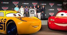 Cars 3 News: NASCAR Press Event Unveils Life-Size Dinoco Cruz Ramirez & More Vocal Castings