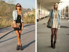 it-yourself-jeans-moda-street-style-como-usar-how-to-wear-a-denim-shirt-opened-over-a-dress2