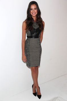 Odette Annable in TRESemme At Tracy Reese - Front Row - Spring 2013 Mercedes-Benz Fashion Week