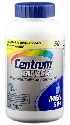 Centrum® Silver® Ultra Men's trên 50 tuổi 250 viên. Vitamin cho đàn ông trên 50 tuổi - Giá 590.000đ
