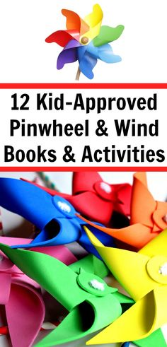 12 Pinwheel Books and Activities for Pre-K Kindergarten-First and Second-Grades via