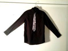 Spray Paint Tie Shirt by BondStreetExit on Etsy