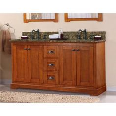 "Magick Woods 60"" Wallace Collection Vanity Base"