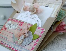 crafty care package... Pocket Card idea, great for mailing a little 'surprise'.