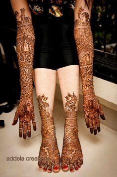 henna Wedding Mehndi Designs, Unique Mehndi Designs, Beautiful Mehndi Design, Mehndi Design Pictures, Mehndi Images, Mehendi, Mehendhi Designs, Mehndi Desighn, Mehndi Ceremony