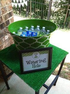 Jackson's golf birthday party!