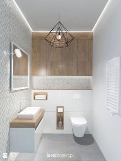 Ideas for bathroom lighting for your home - Ideen Zuhause - Bathroom Decor Grey Bathrooms Designs, Bathroom Layout, Bathroom Interior, Bathroom Decor, Interior, Wc Design, Bathroom Interior Design, Bathroom Lighting, Toilet Design