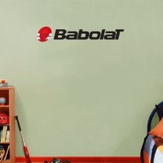 "Babolat Set of 3 Tennis Wall Decor Sticker 25"" x 5"""