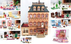 Playmobil Dollhouse 5300   Playmobil VICTORIAN DOLLHOUSE w/4 Floors! Fully Furnished House 5300 ...: