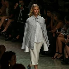 From the runway   double layering with our Accent Shirts (removable cuffs!)