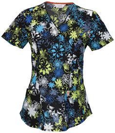 Dots Of Daisies top   The Uniform Outlet
