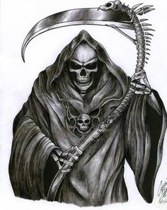 The Grim Reaper Tattoo by ~leadz-n-inkz on deviantART