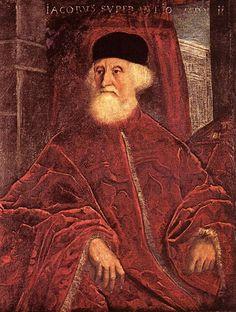 Portrait of Jacopo Soranzo : TINTORETTO : Art Images : Imagiva