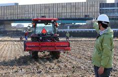 農業にも自動運転の波が押し寄せている。