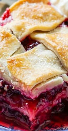 Old-fashioned blackberry cobbler with layers of flaky pastry and juicy tart blackberries. Perfectly sweet and tart and wonderful topped with ice cream Seedless Blackberry Cobbler, Old Fashioned Blackberry Cobbler Recipe, Blackberry Pie Recipes, Best Dessert Recipes, Just Desserts, Delicious Desserts, Custard Desserts, Fruit Cobbler, Pie Dessert