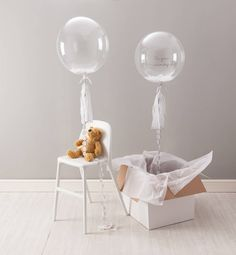 Christening Confetti Balloon