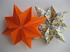 Origami-Instructions.com: 8-pointed Origami Star More