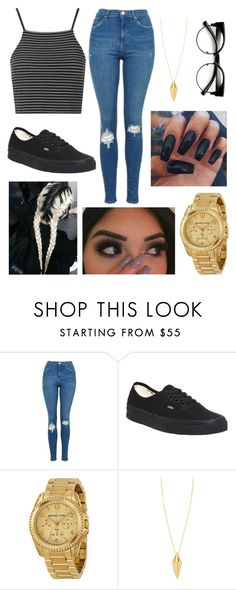 """era"" by fashion-1407 on Polyvore featuring Topshop, Vans, Michael Kors and Rebecca Minkoff"