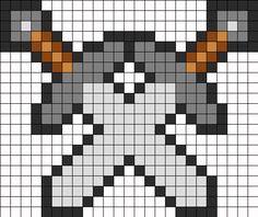 Minecraft Beads, Minecraft Pattern, Minecraft Perler, Pixel Pattern, Minecraft Pixel Art, Kandi Patterns, Perler Patterns, Fuse Beads, Perler Beads