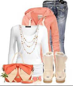 Winter Outfit with Uggs