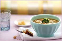 Vegetable Minestrone with Quinoa and Red Rice