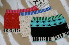 nekka: Calções marca nekka  (crochet feito à mão, tamanho único, peça única/handmade)