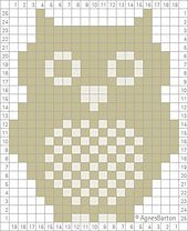 Ravelry: Owl Crochet Chart pattern by Agnes Barton