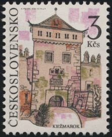Kežmarok Interesting Buildings, Vintage Stamps, Stamp Collecting, Art And Architecture, Culture, Stickers, Fiji, Design, Collection