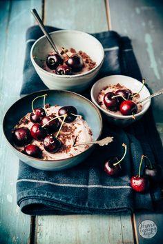 Maak dit verrassend leuke kersen recept: zomerse kersen puddinkjes