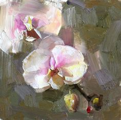 richard schmid orchid painting - Google Search
