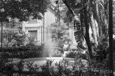 Casa das Rosas. Black and White