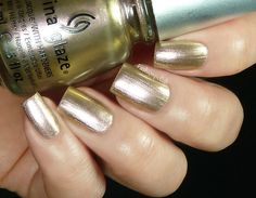 Fashion Polish: China Glaze New Bohemian Radiant Luster Chromes (Swanky Silk)