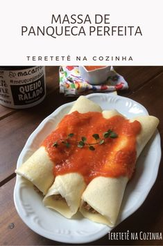 A melhor massa de panqueca Make pancakes without losing a dough and the best with amazing result. Food Net, Tasty Pancakes, Salty Foods, Evening Snacks, Quick Easy Meals, Food Porn, Good Food, Dessert Recipes, Food And Drink
