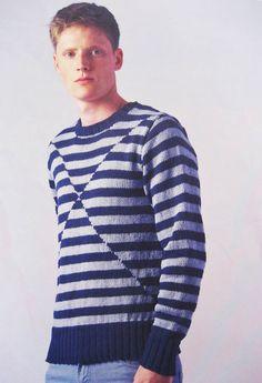 Rowan Magazine 53 (British knitting/crochet company) - Vidal by Josh Bennett, in Rowan Creative Linen