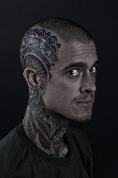 Bold Head Tattoo Ideas and Inspirations 6