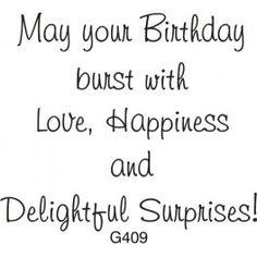 Delightful Surprises Birthday Greeting