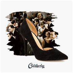 #black #shoes #Okilucky