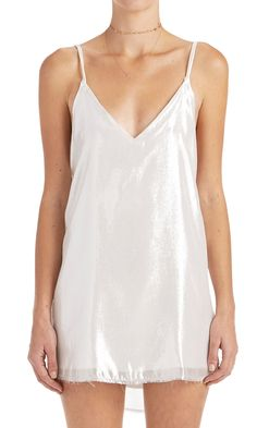 Zillah Slip Dress - Silver from Are You Am I